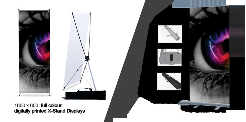 Retractable Banner Displays & X-Stands Displays